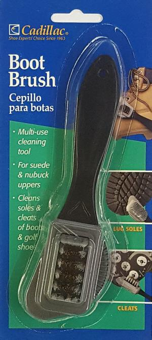 Cadillac Suede Nubuck Golf Cleats Athletic Shoe Boot Cleaner Combo-Brush 4d4507ebb0efd